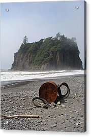 Washed Up Acrylic Print by Ty Nichols