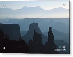 Washerwoman Arch Acrylic Print by Stan and Anne Foster