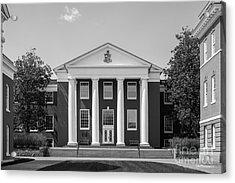 Washington And Lee University Huntley Hall Acrylic Print