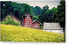 Acrylic Print featuring the photograph Washington County Vignette by Kendall McKernon