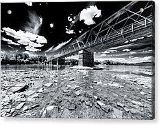 Washington Crossing Acrylic Print by John Rizzuto