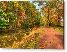 Washington Crossing Park Acrylic Print