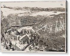 Washington, D.c., 1861 Acrylic Print by Granger