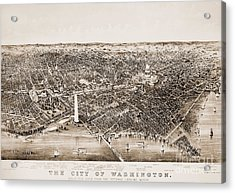 Washington D.c., 1892 Acrylic Print by Granger