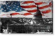 Washington Dc 56t Acrylic Print by Gull G