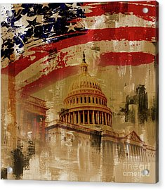 Washington Dc Acrylic Print by Gull G