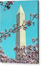 Washington D.c. In Springtime 2 Acrylic Print by J Jaiam