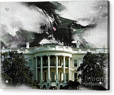 Washington Dc, White House Acrylic Print by Gull G
