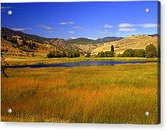 Washington Landscape Acrylic Print by Marty Koch