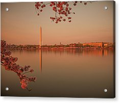 Washington Monument Acrylic Print by Adettara Photography