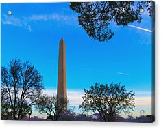 Washington Monument Acrylic Print by Heidi Pix