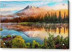 Washington, Mt Rainier National Park - 04 Acrylic Print