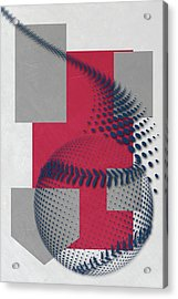 Washington Nationals Art Acrylic Print by Joe Hamilton