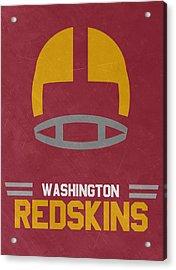 Washington Redskins Vintage Art Acrylic Print