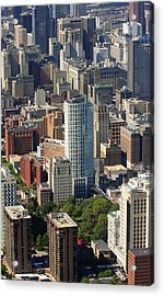 Acrylic Print featuring the photograph Washington Square Philadelphia Pennsylvania by Duncan Pearson