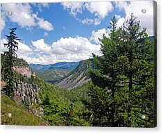 Washington State Vista On Us Hwy 12 - Nr 1 Acrylic Print by Stephen Bonrepos