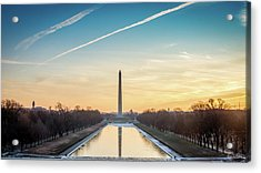 Washington Sunrise Acrylic Print
