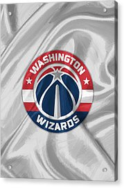Washington Wizards Acrylic Print by Afterdarkness