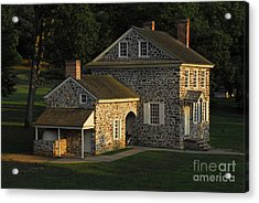 Acrylic Print featuring the photograph Washington's Headquarters At Valley Forge by Cindy Manero