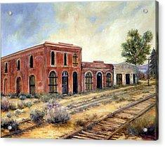 Washoe City Nevada Acrylic Print by Evelyne Boynton Grierson