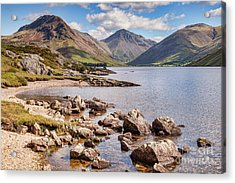 Acrylic Print featuring the photograph Wastwater  by Colin and Linda McKie