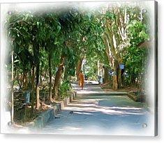 Wat Umong 1 Acrylic Print