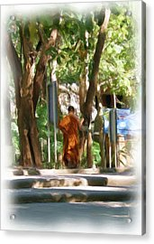 Wat Umong 2 Acrylic Print