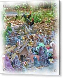 Wat Umong 5 Acrylic Print