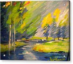 Watauga River View Acrylic Print