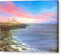 Watch Hill Light House Acrylic Print