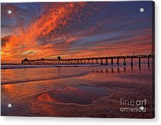 Watch More Sunsets Than Netflix Acrylic Print