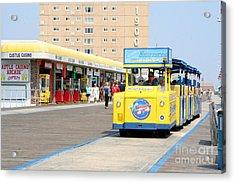 Watch The Tram Car Please Acrylic Print