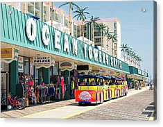 Watch The Tram Car - Wildwood, Nj Acrylic Print