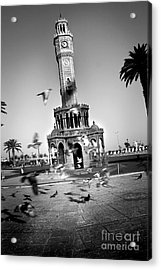 Watch Tower Acrylic Print by Kadir Murat Tosun