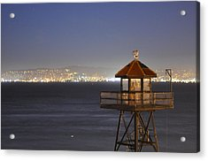Watch Tower Of The West Acrylic Print by Greg McDonald