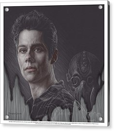 Watch Your Back Stiles Acrylic Print