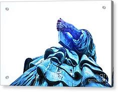 Watching Liberty Acrylic Print