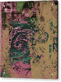 Watching Acrylic Print by Wayne Potrafka