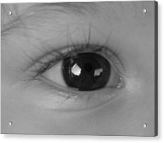 Watching You ...  Acrylic Print by Juergen Weiss