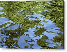 Water Abstractions Acrylic Print