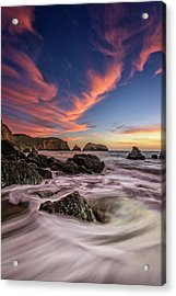 Water And Fire Acrylic Print
