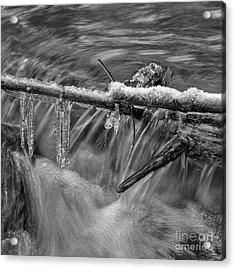 Water And Ice 2 Acrylic Print by Veikko Suikkanen