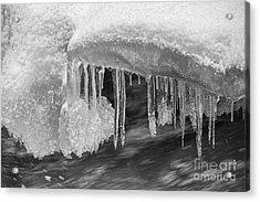 Water And Ice Acrylic Print by Veikko Suikkanen
