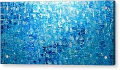 Water And Light 2016 Acrylic Print