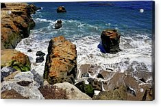 Water And Rocks Acrylic Print