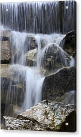 Water And Rocks Acrylic Print by Frank Tschakert