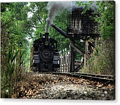 Water And Steam Acrylic Print by Scott Hovind
