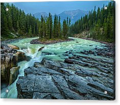 Water And Stone Acrylic Print