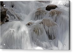 Water And Stone- Dance Of The Elements Acrylic Print