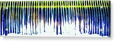Acrylic Print featuring the photograph Water Brushes by Tom Vaughan
